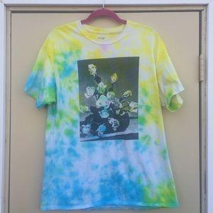 White Roses, Ryan De La Hoz Design, Custom Tie-Dye